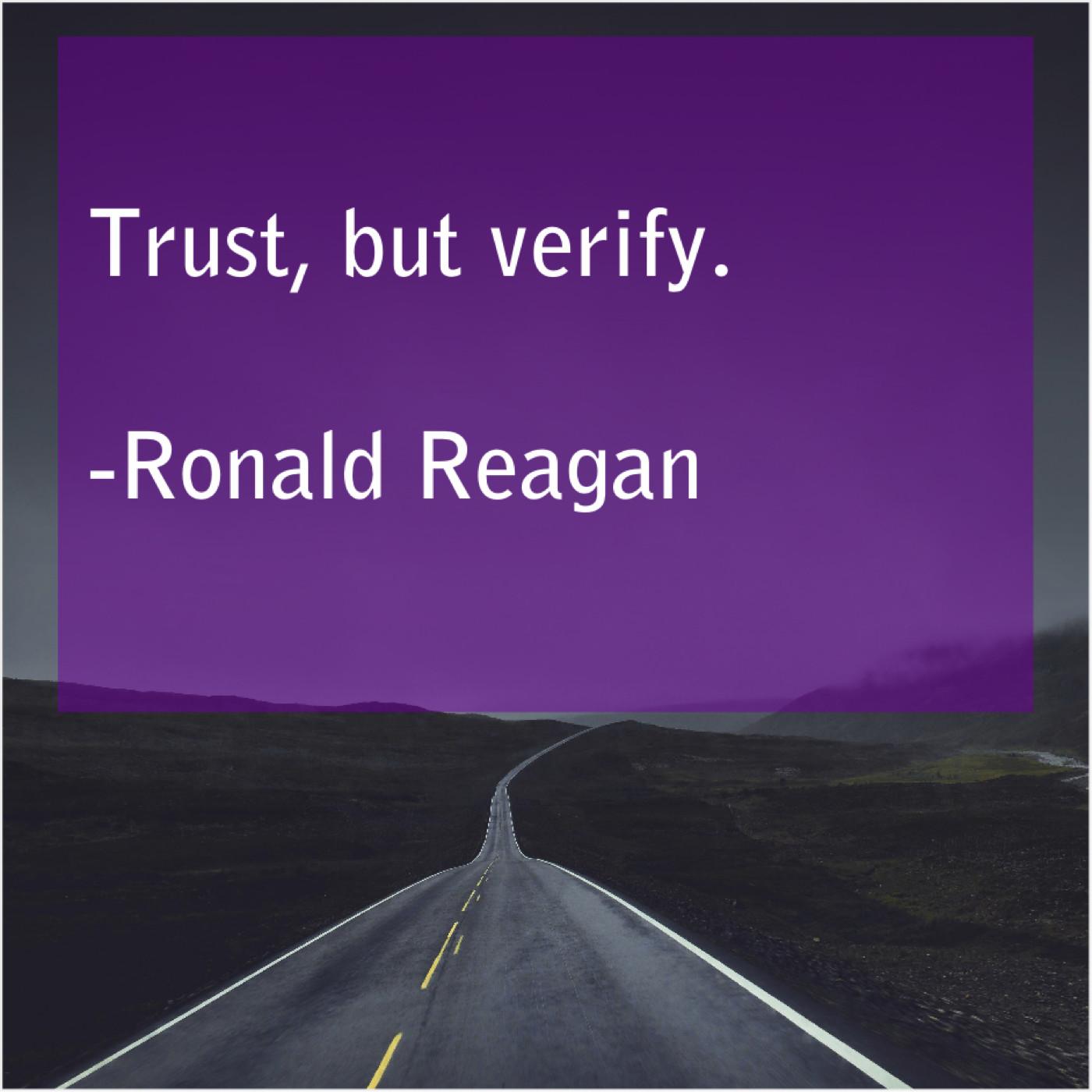 Ronald Reagan Trust But Verify Quote Trumpet